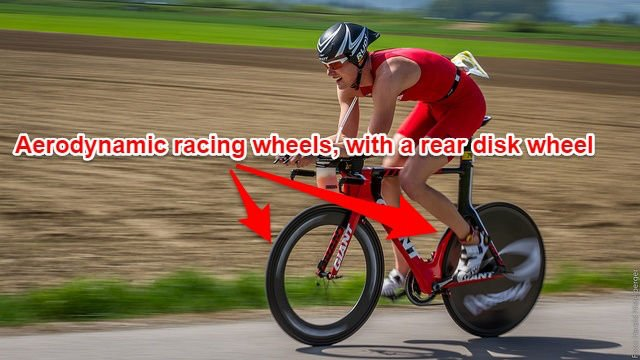 Road/Triathlon bike disk wheels